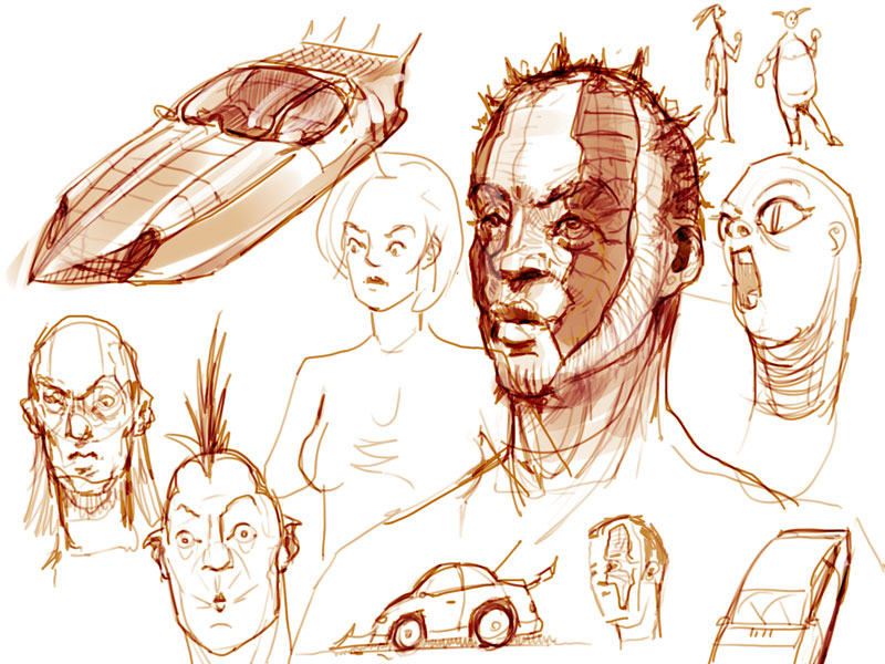 Dura's Scribbels&Sketches